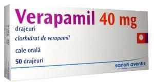 فيراباميل لعلاج إرتفاع ضغط الدم والذبحة الصدرية Verapamil