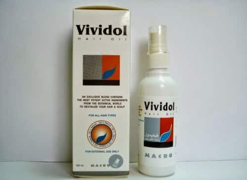 فيفيدول زيت لعلاج جفاف الشعر وتالف Vividol Hair Oil