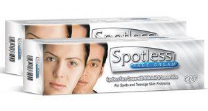 سبوتلس كريم لتفتيح البشرة وإزالة البقع السمراء Spotless Cream