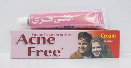 أكني فرى كريم لعلاج حالات حب الشباب Acne Free Cream