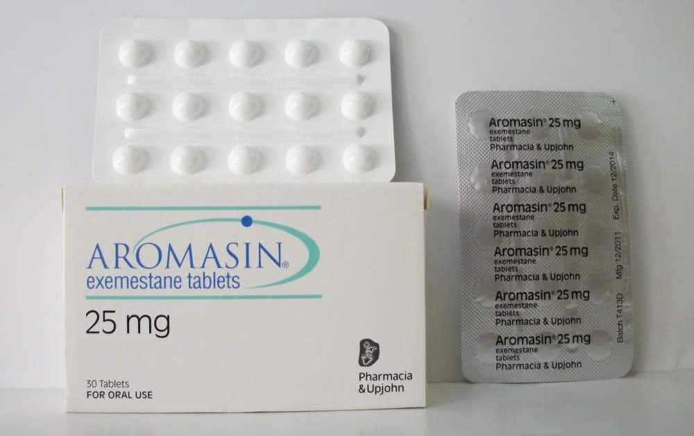 اروماسين أقراص لمنع أورام الثدى المبكرة Aromasin Tablets