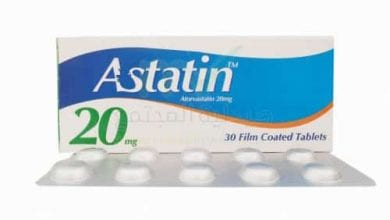 أستاتين أقراص لخفض مستوى الكوليسترول فى الدم Astatin Tablets