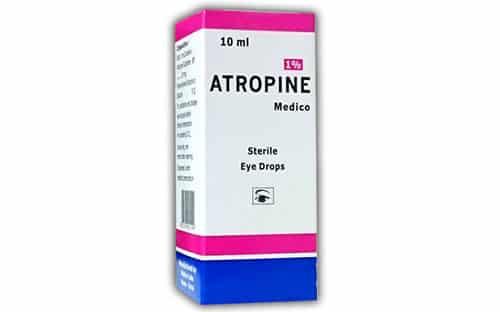أتروبين قطرة لتوسيع حدقة العين Atropine Eye Drops