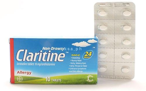 كلاريتين أقراص لعلاج الحساسية Claritine Tablets