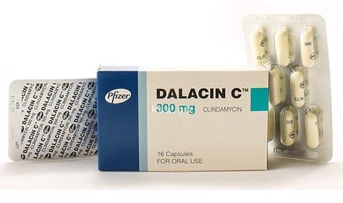 دالاسين سي كبسولات مضاد حيوى واسع المجال Dalacin C Capsles