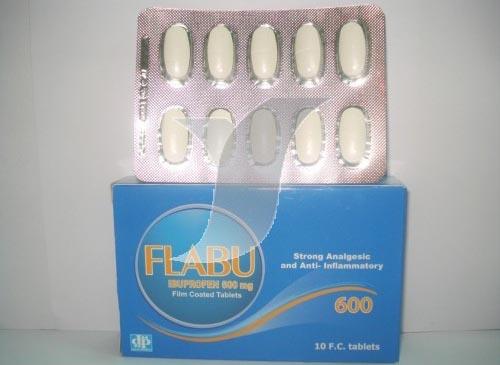 فلابو أقراص نقط مضاد للالتهابات وخافض للحراره Flabu