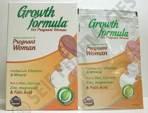 جروث فورميلا للنساء الحوامل GROWTH FORMULA PREGNANT WOMAN 10 SACHETS 250 GM