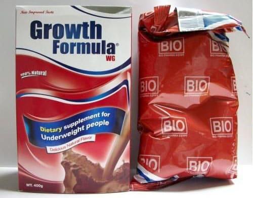 جروث فورميلا مكمل غذائى لعلاج النحافة ونقص الوزن Growth Formula