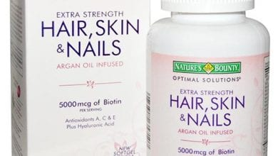هير سكن اند نيلز كبسولات للشعر والاظافر والبشرةHair Skin And Nails Capsules
