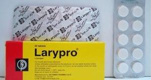 لاري برو أقراص لعلاج إلتهابات الفم والحلق Larypro Tablets