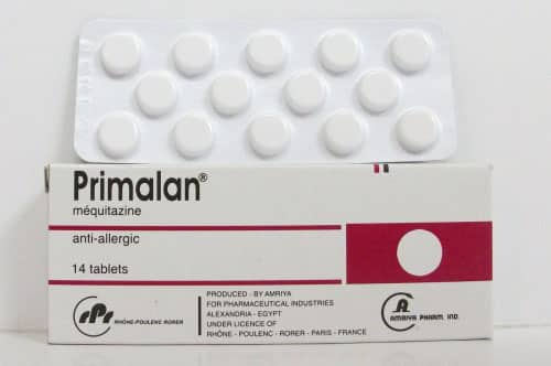 بريمالان أقراص شراب لعلاج الحساسية Primalan Tablets