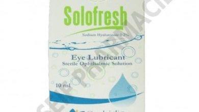 سولوفريش قطرة لعلاج إلتهابات العين Solofresh Eye Drops