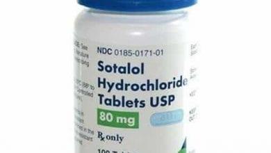 سوتالول أقراص لعلاج سرعة ضربات القلبSotalol Tablets