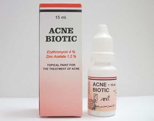 أكنى بيوتك محلول لعلاج حالات حب الشباب Acne Biotic Solution