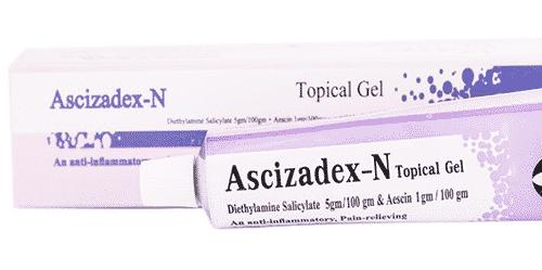 أسي زادكس إن جيل لعلاج الكدمات والتورمات Ascizadex N Gel