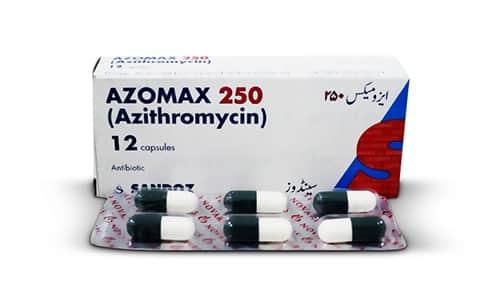 أزوماكس كبسولات مضاد حيوي واسع المجال Azomax Capsules