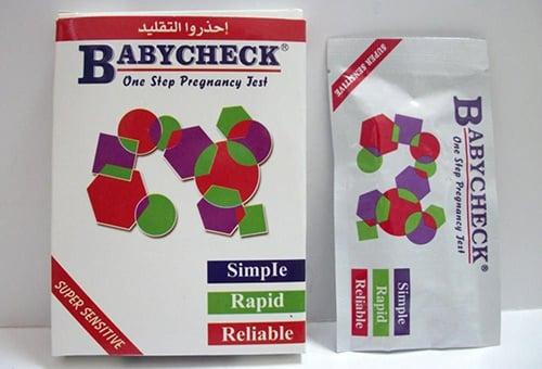 أختبار الحمل بيبي تشيك أفضل وسيلة لاختبار الحملBaby Check