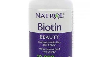 بيوتين أقراص لتطويل الشعر وزيادة نعومته BiotinTablets