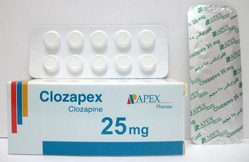 كلوزابكس 25 مجم برشام CLOZAPEX 25 MG 50 TAB.