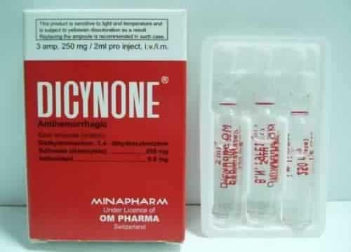 دايسينون أمبولات Dicynone Ampoules