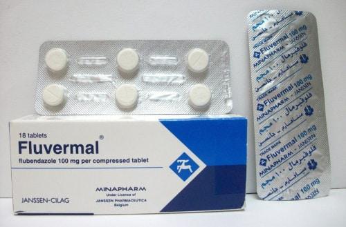 فلوفيرمال أقراص مضاد للديدان المختلفة Fluvermal Tablets