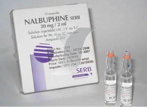 نالبوفين أمبولات حقن مسكن قوي للآلام Nalbuphine Ampoules
