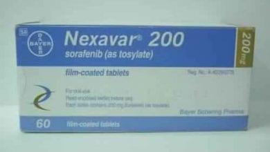 نيكسافار أقراص لعلاج خلايا سرطان الكبد Nexavar Tablets