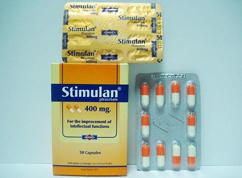 ستيميولان كبسولات شراب لعلاج قصور وظائف المخ Stemulan