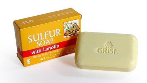 كبريت صابون لازاله حب الشباب وتفتيح البشرة Sulfur soaps