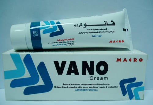 فانو كريم مرطب للبشرة ومضاد للتشقفات Vano Cream