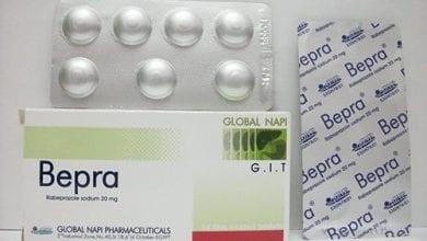 بيبرا أقراص لعلاج قرحة المعدة والاثنى عشر Bepra Tablets