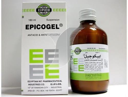 ابيكوجيل شراب مضاد للحموضة والانتفاخ Epicogel Syrup