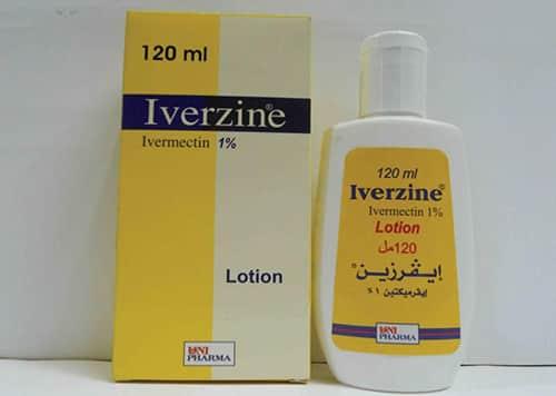 ايفرزين غسول لعلاج قمل الشعر Iverzine Lotion