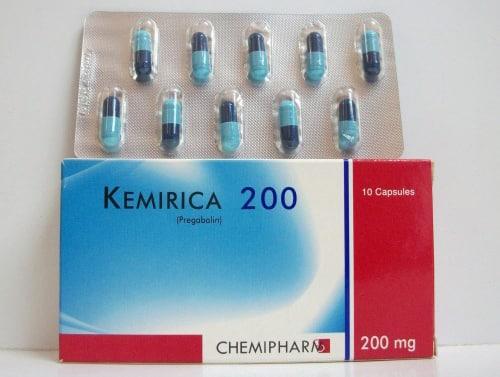 كيميريكا كبسولات مضاد للصرع وإلتهابات الاعصاب Kemirica Capsules
