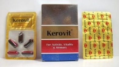 كيروفيت كبسولات لتحسين الدورة الدمويةKerovit Capsules