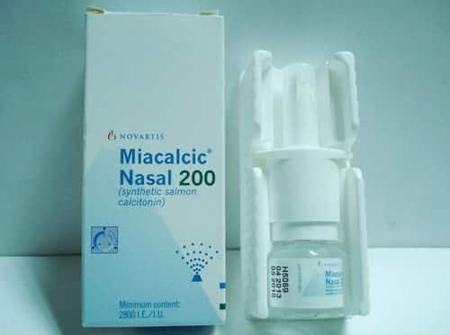مياكالسيك بخاخ لعلاج ألام العظام Miacalcic Nasal Spray
