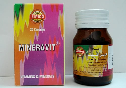 مينرافيت كبسولات فيتامينات ومقوى عام Mineravit Capsules