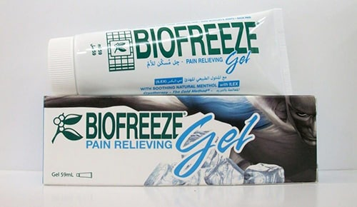 بيوفريز جل لعلاج إلتهابات المفاصل والالام العضلات Biofreeze Gel