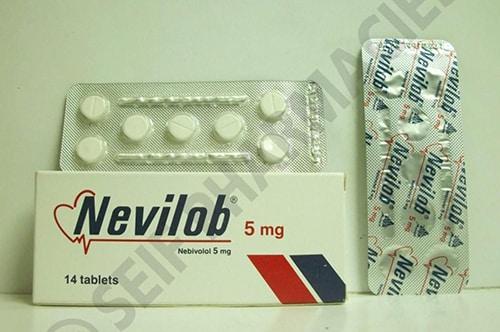 نيفيلوب أقراص لعلاج ضغط الدم المرتفع Nevilob Tablets