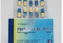 بروستاكيور بلس كبسولات لعلاج إحتقان البروستاتا Prostacure Plus Capsules
