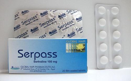 سيرباس أقراص لعلاج الأكتئاب والوسواس القهرى Serpass Tablets