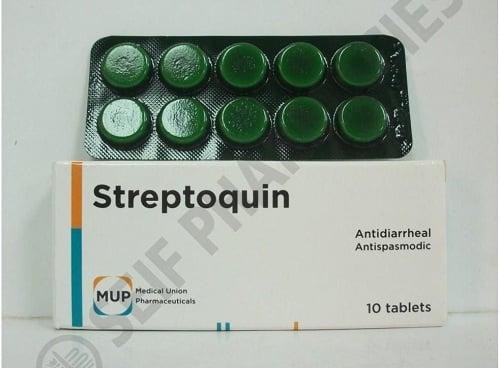 ستربتوكين لعلاج الإسهال المزمن والتهاب الجهاز الهضمي Streptoquin