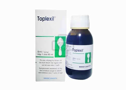 توبلكسيل شراب طارد للبلغم ومهدئ للسعال Toplexil Syrup
