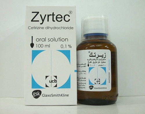 زيرتك 10 معلق ZYRTEC 0.1% SYRUP 100ML