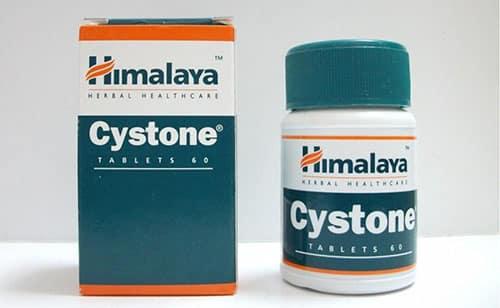 سيستون أقراص شراب للتخلص من حصوات الكلي والمسالك البولية Cystone