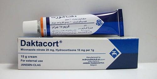 دكتاكورت كريم مضاد للفطريات وعلاج عدوى الجلد Daktacort Cream