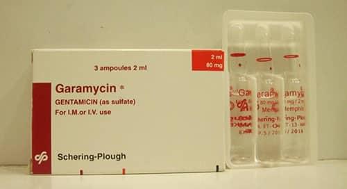 جاراميسين مضاد حيوي لعلاج الالتهابات البكتيرية Garamycin