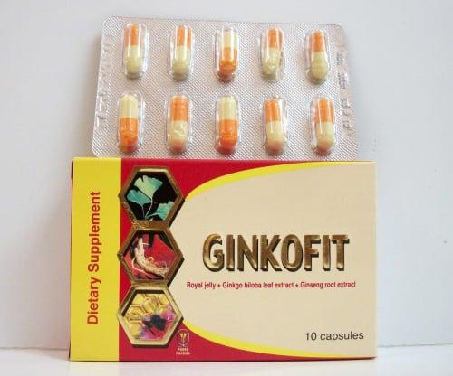 جنكوفيت كبسولات مكمل غذائى لتحسين الدورة الدموية Ginkofit Capsules