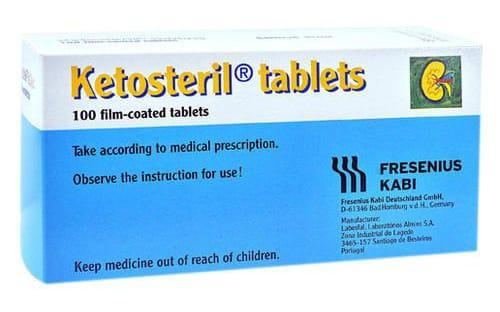 كيتوستريل أقراص لعلاج امراض تليف الكلي Ketosteril Tablets