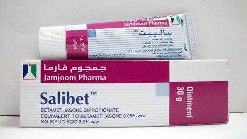ساليبت مرهم لعلاج الاكزيما والصدفية والالتهابات الجلدية Salibet Ointment